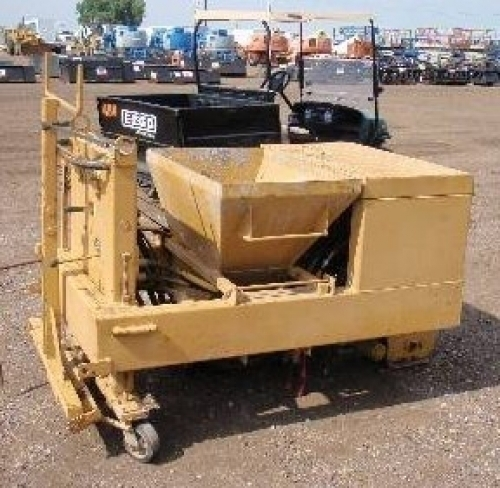Gomaco ec1000 walk behind concrete paver mini curber in for Walk in vault for sale