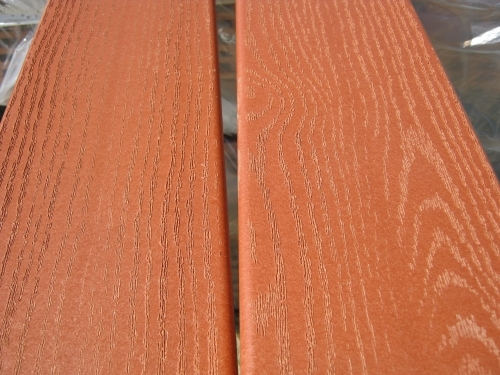 Composite redwood decking price reduced in pensacola for Timber decking for sale