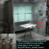 Spray Painting Booth, meets city safety code