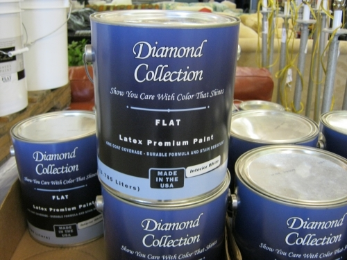 diamond collection flat latex paint in milton fl 32570 On diamond collection paint