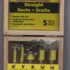 ROUTER BIT KIT 5 PIECE
