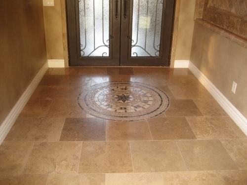 18x18 travertine tile walnut noche in mesa az 85201 for 18 x 18 tile floor