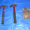 HAMMERS - 2 Claw Hammers and Belt-Loop Hammer Holder