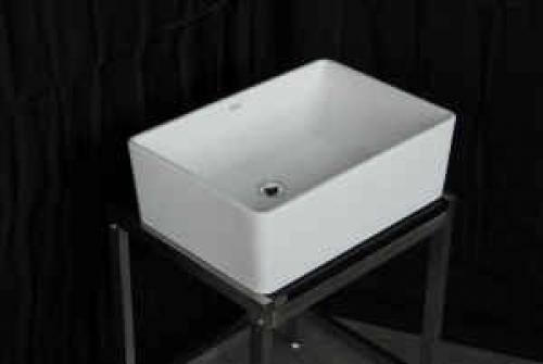 Deep Porcelain Sink : Deep Porcelain Bathroom Square Sink in Chicago, IL 60290 DiggersList ...